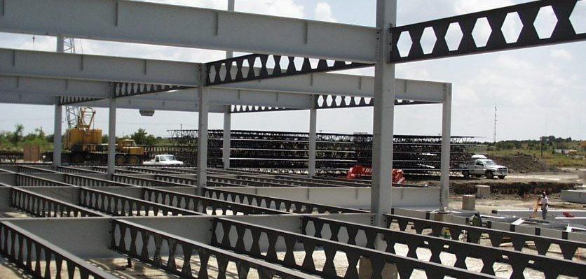 ساخت و برش تیرآهن لانه زنبوری | فولاد فیدار