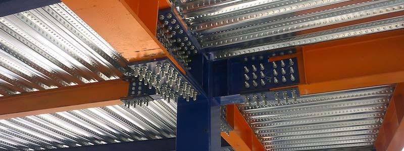 مقاوم سازی تیرآهن به کار رفته در ستون های ساختمان