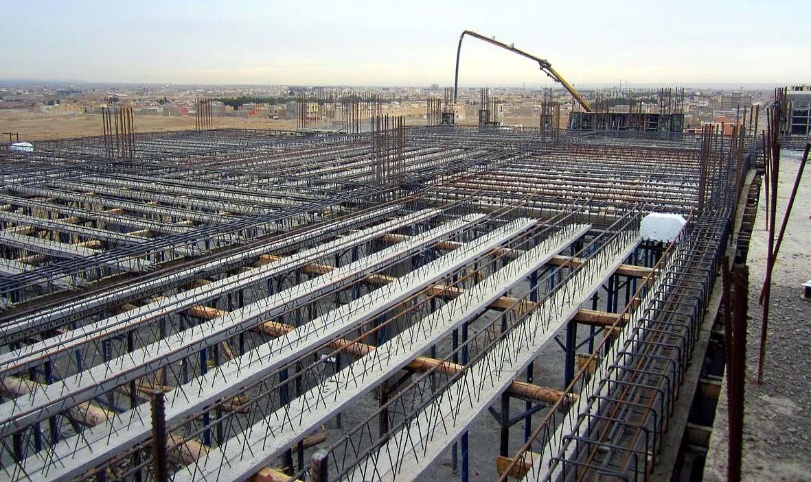 میلگردهای مورد نیاز برای ساخت ساختمان های چند طبقه