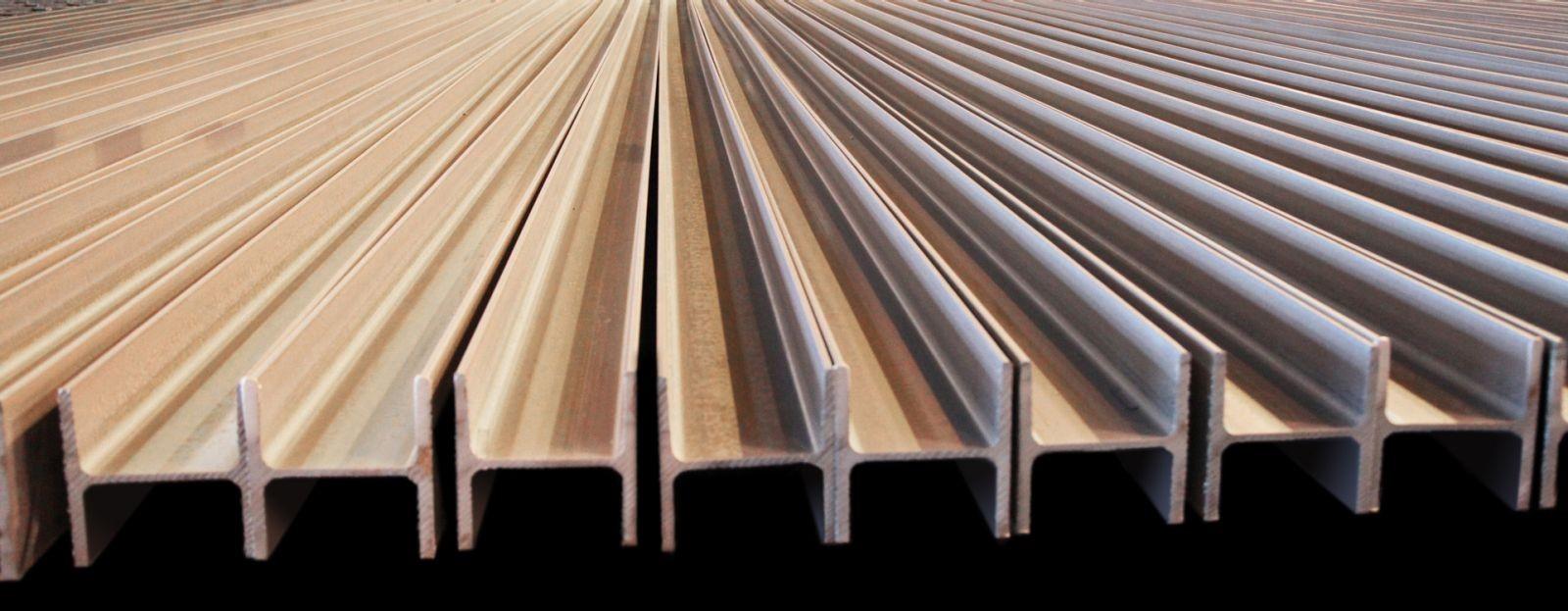 انواع استانداردهای تیرآهن